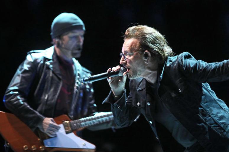 U2, Bono, The Edge, Concert, eXPERIENCE + iNNOCENCE Tour, O2 Arena, 2018