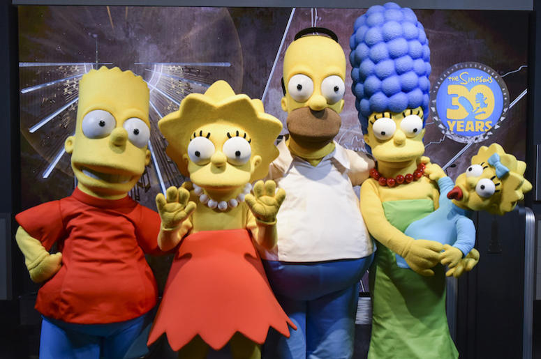 The Simpsons, Costumed Characters, 30th Anniversary, 2018