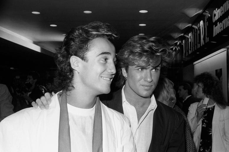 Andrew Ridgeley and George Michael