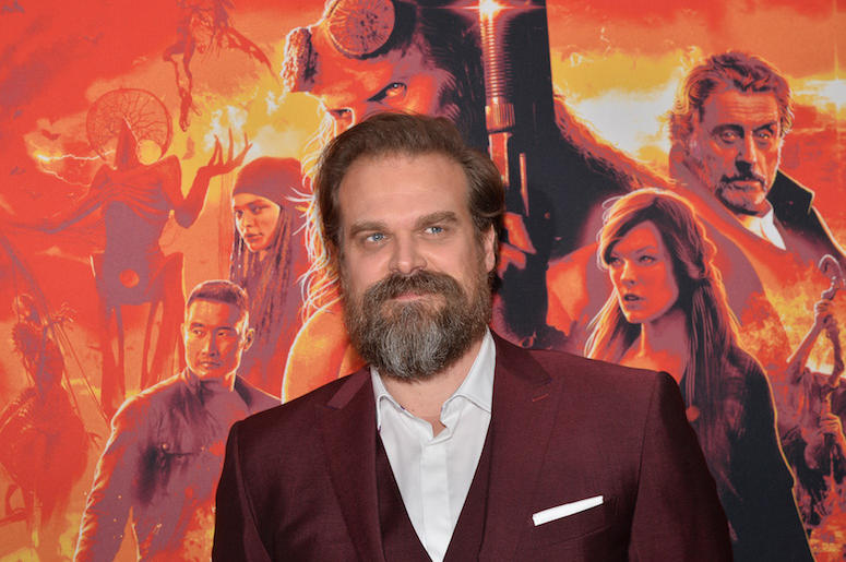 David Harbour, Hellboy, Red Carpet, New York Screening, 2019