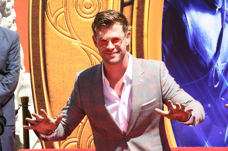 Chris Hemsworth, Avengers: Endgame, TCL Chinese Theatre, Handprint Ceremony, 2019