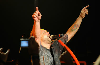 Michael Anthony, of Chickenfoot performs at The Roxy Theatre on May 19, 2009 in West Hollywood, California