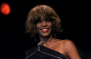 Whitney Houston at the Songwriters Hall of Fame 32nd Annual Awards