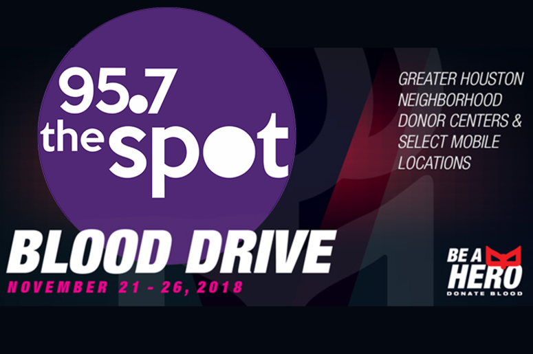 24df06d4f The Spot Joins Gulf Coast Regional Blood Center For Semi-Annual Blood Drive!