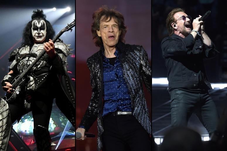 Gene Simmons x Mick Jagger x Bono