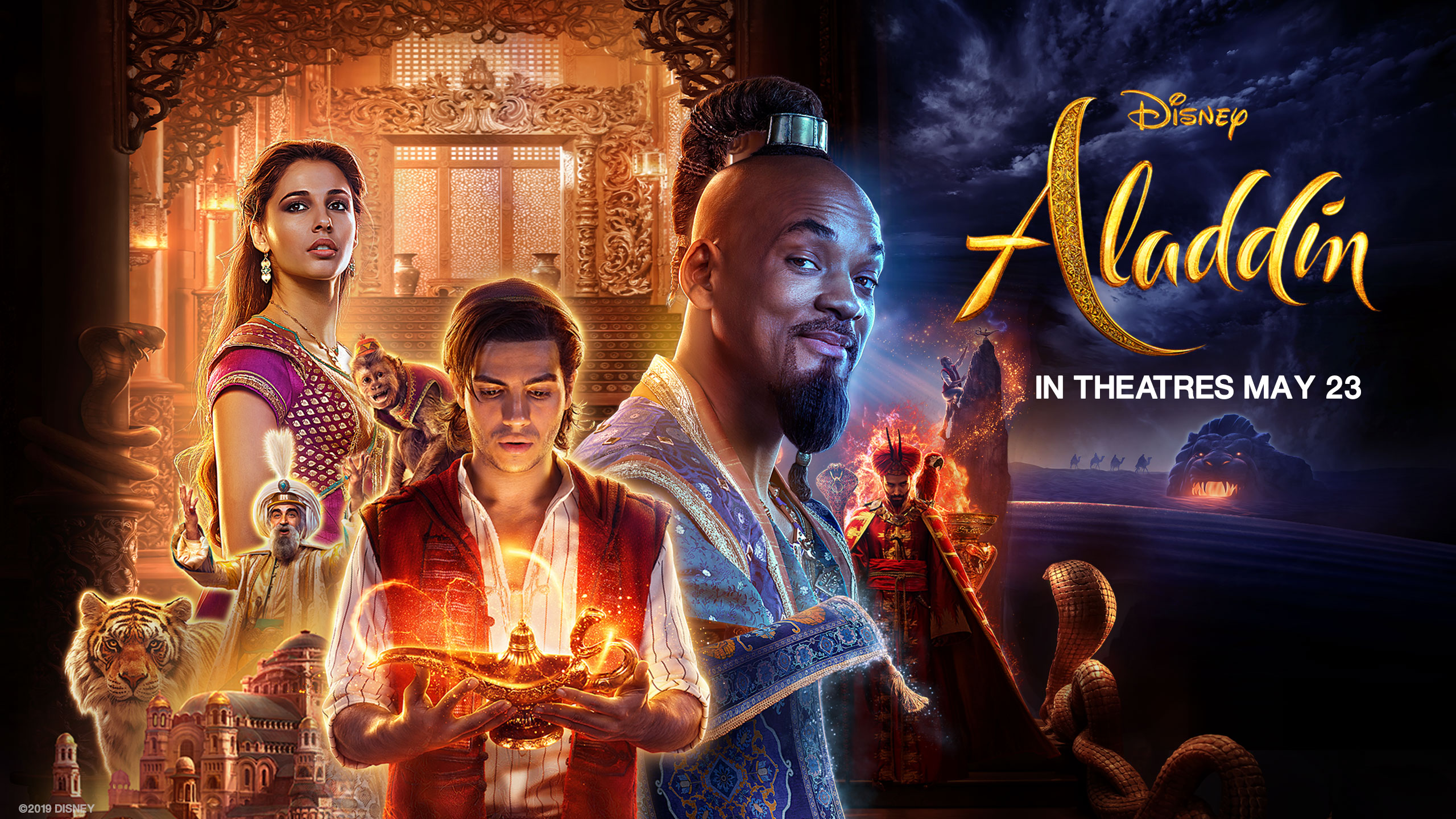 Disney Aladdin 2019 Wallpaper Free Hd Wallpapers And 4k