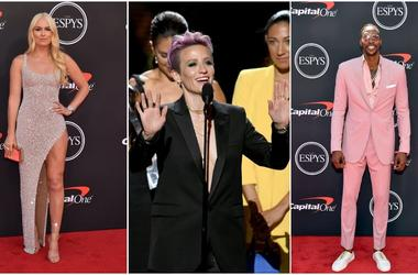 2019 espy awards fiercest fashion from the red carpet