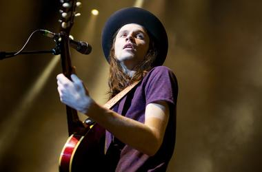 James Bay Performing At Alice In Winterland 2015