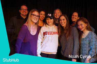 Noah Cyrus Meet-N-Greet On The StubHub Stage In The Alice Lounge