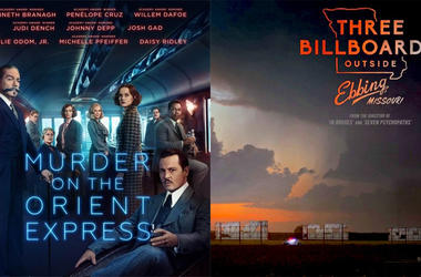 'Murder on the Orient Express' And 'Three Billboards Outside Ebbing, Missouri'