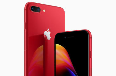 (RED) iPhone