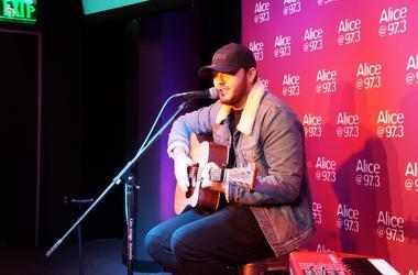 James Arthur On The StubHub Stage In The Alice Lounge