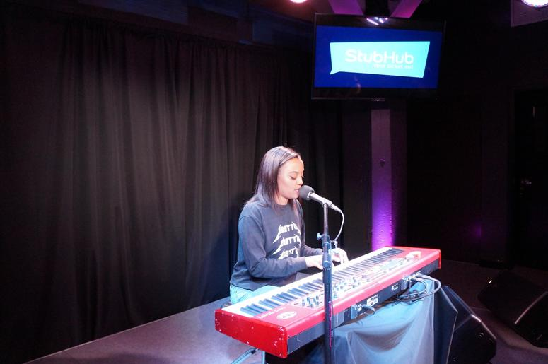 Ruth B. On The StubHub Stage In The Alice Lounge