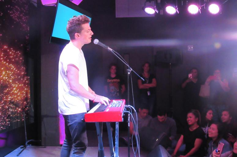 Charlie Puth On The StubHub Stage