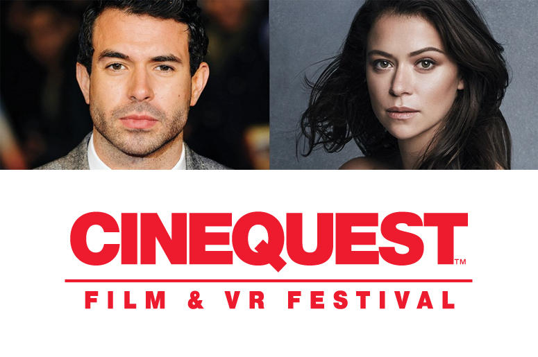 Tatiana Maslany and Tom Cullen with 'Souls of Totality