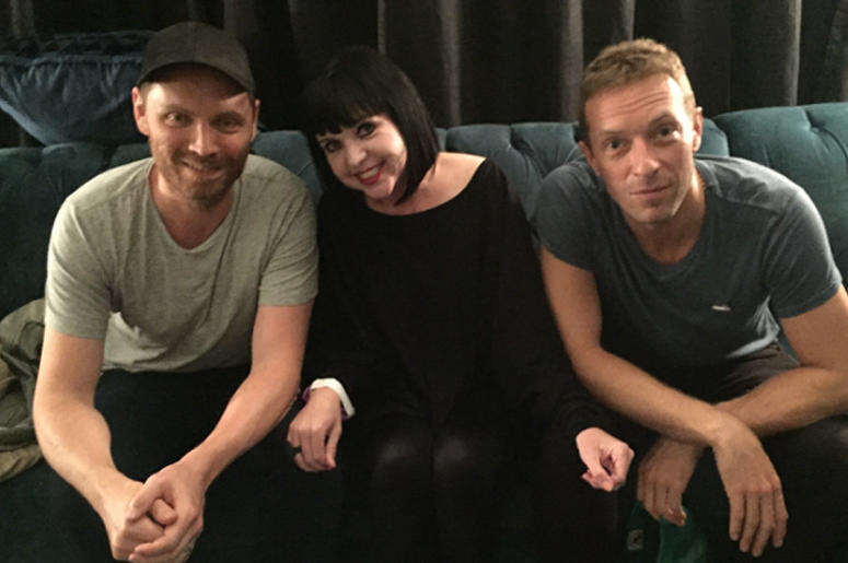 Jayn with Coldplay