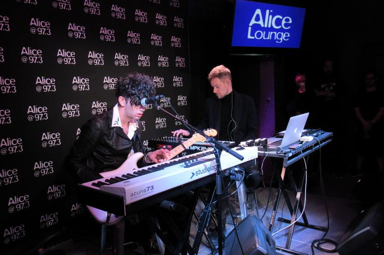 The 1975 In The Alice Lounge