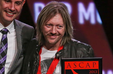 HOLLYWOOD, CA - APRIL 17: Frederic Riesterer receive an award on stage during the 30th Annual ASCAP Pop Music Awards at Loews Hollywood Hotel on April 17, 2013 in Hollywood, California. (Photo by Paul A. Hebert/Getty Images)