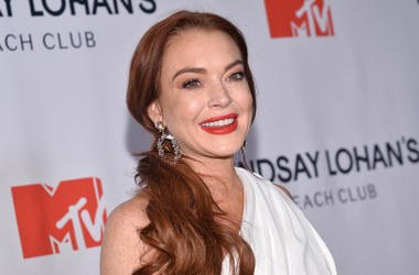 "Lindsay Lohan attends ""Lindsay Lohan Beach Club"" event at the Magic Hour Rooftop at The Moxy Times Square, in New York, NY, January 7, 2019. (Photo by Anthony Behar/Sipa USA)"