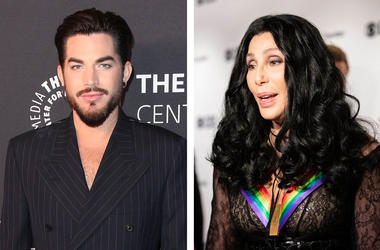 Adam Lambert and Kennedy Center Honoree, Cher (Photo credits: Birdie Thompson/AdMedia/Sipa USA/Hannah Gaber-USA Today)