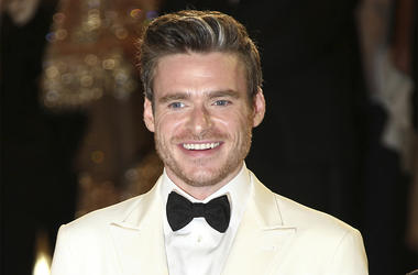 Actor Richard Madden poses for photographers upon departing the premiere of the film 'Rocketman' at the 72nd international film festival, Cannes, southern France, Thursday, May 16, 2019. (Photo by Joel C Ryan/Invision/AP)