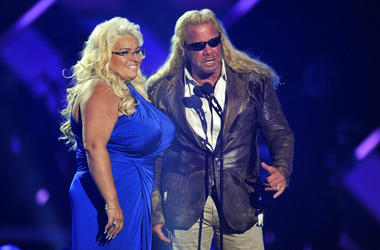 "Duane ""Dog"" Chapman, right, and Beth Chapman"