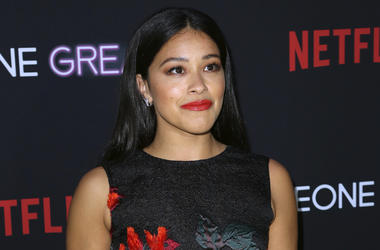 "This April 17, 2019 file photo shows Gina Rodriguez at a special screening of ""Someone Great"" in Los Angeles. (Photo by Willy Sanjuan/Invision/AP, File)"