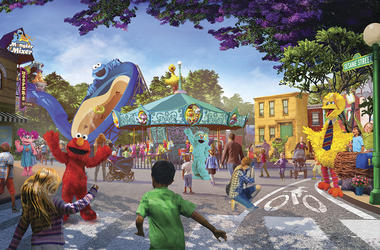 This undated artist rendering provided by PGAV Destinations shows a depiction of the new SeaWorld and Sesame Workshop theme park, which is scheduled to open in San Diego in 2021. (PGAV Destinations via AP)