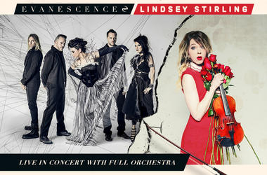 Lindsey Stirling & Evanescence Live In Concert with Full Orchestra