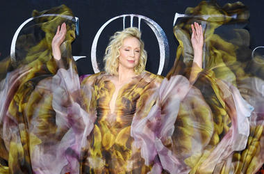 Gwendoline Christie attends the 'Game Of Thrones' Season 8 Premiere