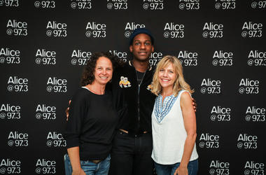 Leon Bridges Meet-N-Greet in the Alice Lounge