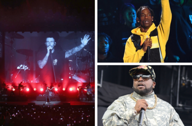 The NFL announces Travis Scott and Big Boi will join Maroon 5 during the Super Bowl LIII halftime show