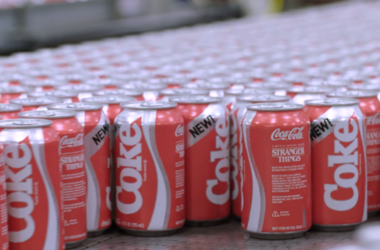 New Coke cans
