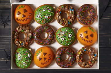 Krispy Kreme's Ultimate Halloween Doughnut Collection