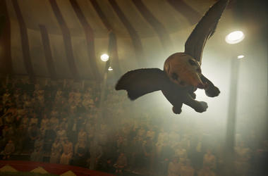 "This image released by Disney shows a scene from ""Dumbo."""