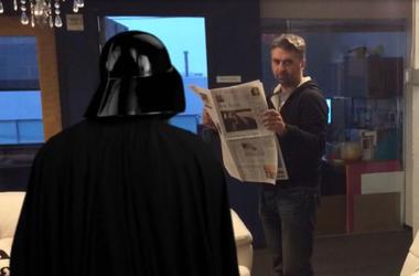 Hooman Vs Darth Vader
