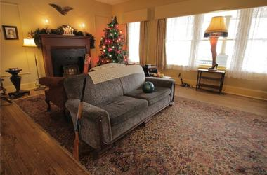 The Parker's Living Room at 'A Christmas Story' House & Museum (Photo credit: A Christmas Story House & Museum)