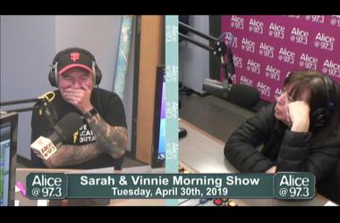 Sarah and Vinnie