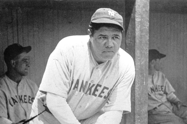New York Yankees' Babe Ruth