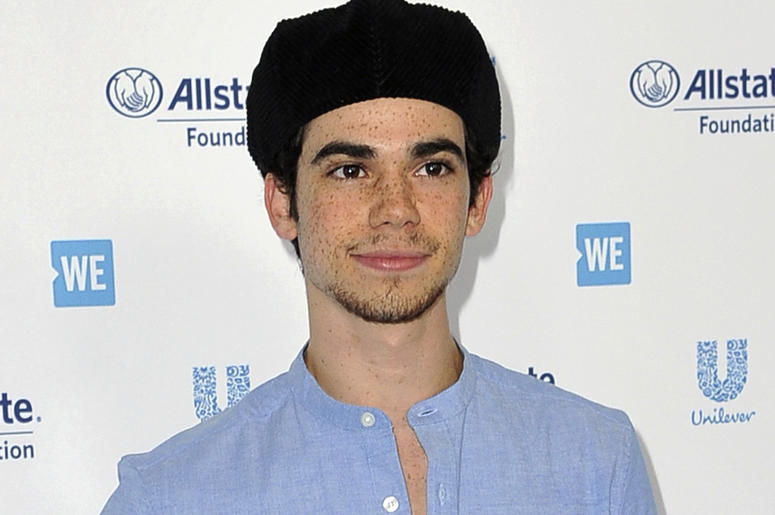 In this April 25, 2019, file photo, Cameron Boyce arrives at WE Day California at The Forum in Inglewood, California. (Photo by Richard Shotwell/Invision/AP, File)