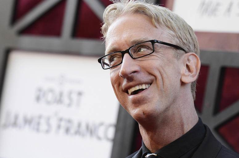 In this Aug. 25, 2013, file photo, comedian Andy Dick arrives at the Comedy Central Roast of James Franco at The Culver Studios in Culver City, California. (Photo by Dan Steinberg/Invision/AP, File)