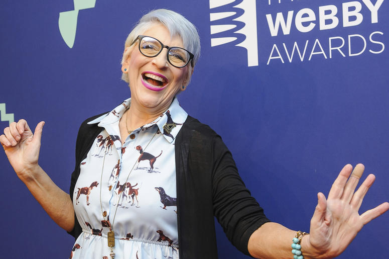 This May 13, 2019 file photo shows Lisa Lampanelli at the 23rd annual Webby Awards in New York. (Photo by Christopher Smith/Invision/AP, File)