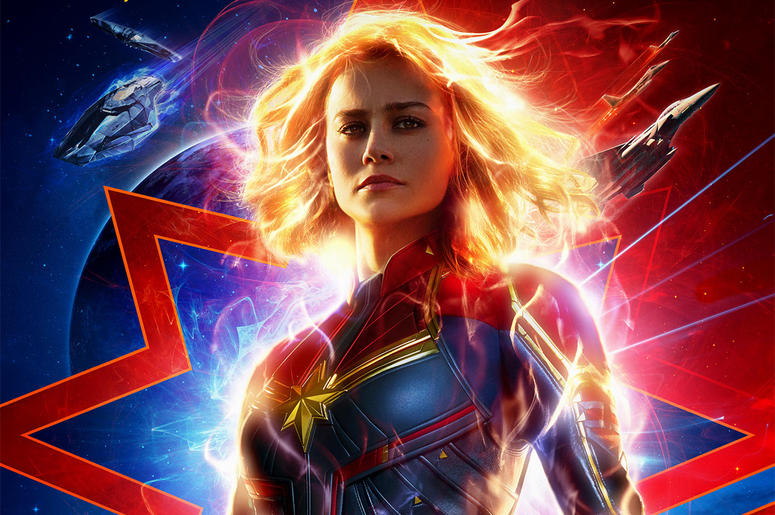 Brie Larson as 'Captain Marvel' (Photo credit: Disney/Marvel Studios)