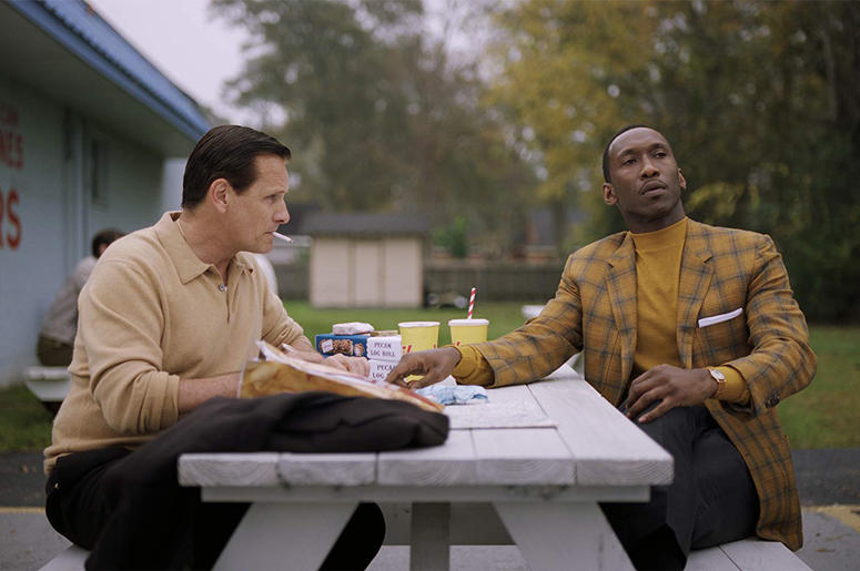 Viggo Mortensen and Mahershala Ali in 'Green Book' (Photo credit: © 2018 Universal Pictures. All Rights Reserved)