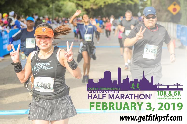 Kaiser Permanente San Francisco Half Marathon, 10k & 5k