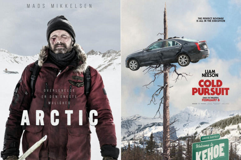 """Cold Pursuit"" and ""Arctic"" movie reviews"