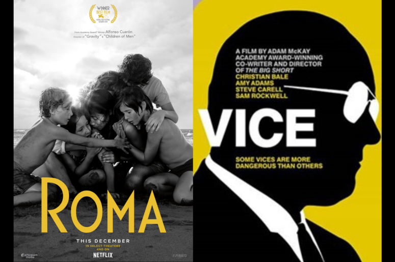 """""""Roma"""" and """"Vice"""" Movie Review"""