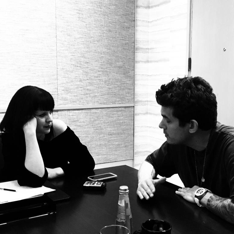 John Mayer and Jayn