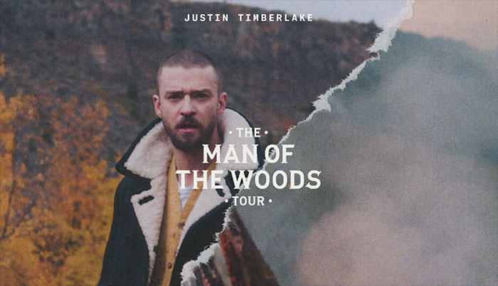 Justin Timberlake 'Man In The Woods' Tour (Photo credit: Live Nation)