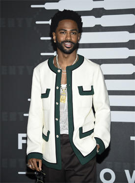 Rapper Big Sean attends the Spring/Summer 2020 Savage X Fenty show, presented by Amazon Prime, at the Barclays Center on Tuesday, Sept, 10, 2019, in New York. (Photo by Evan Agostini/Invision/AP)